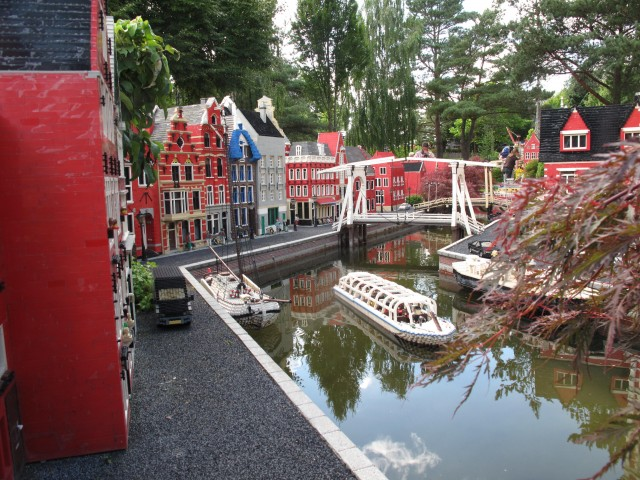 Die Grachten von Amsterdam in der Miniland-Version / Thomas Meins